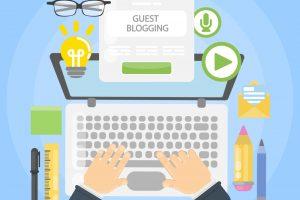 Guest blogging desk.